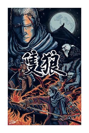 Sekiro Video Game Print