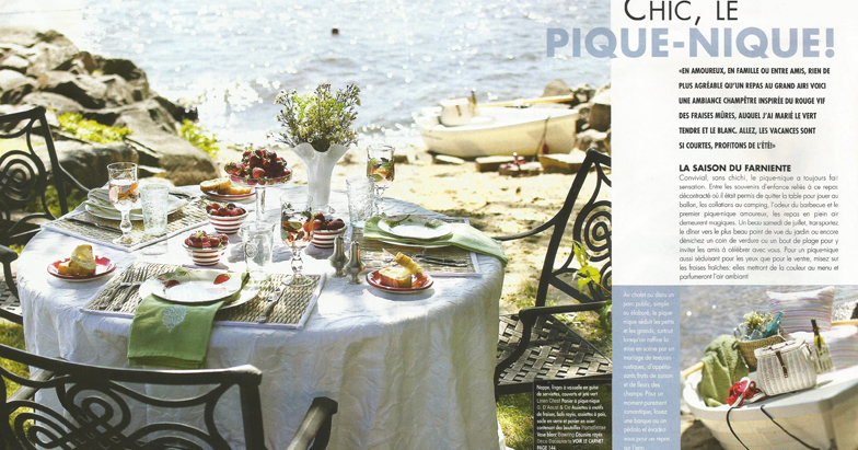 Chic, the picnic!