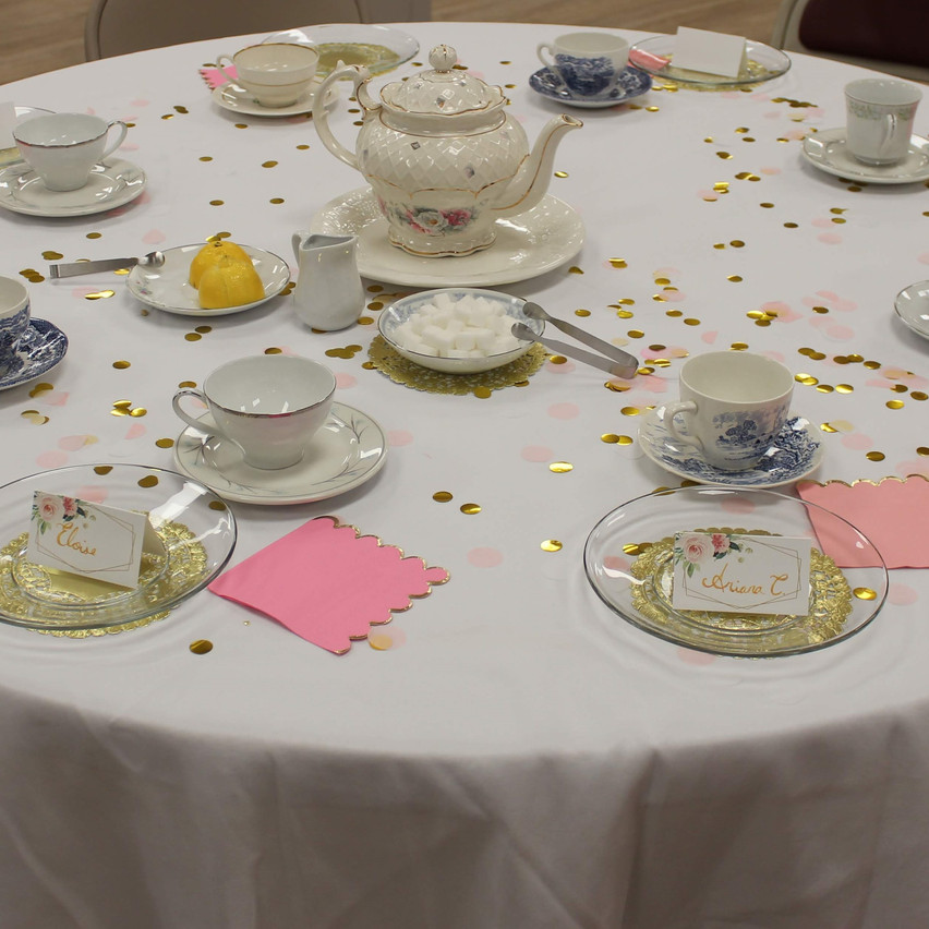 Tea Party Table 4