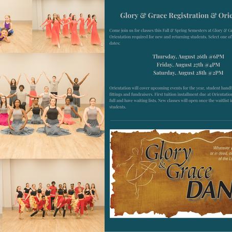 Registration/Orientation Thursday, Friday & Saturday