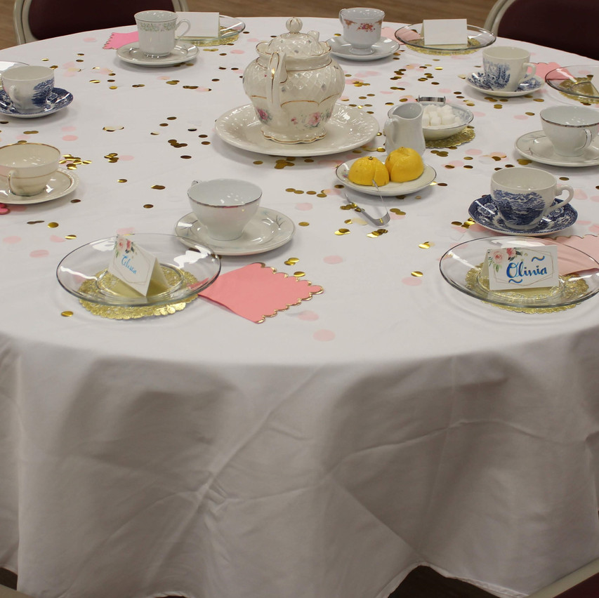 Tea Party Table 3