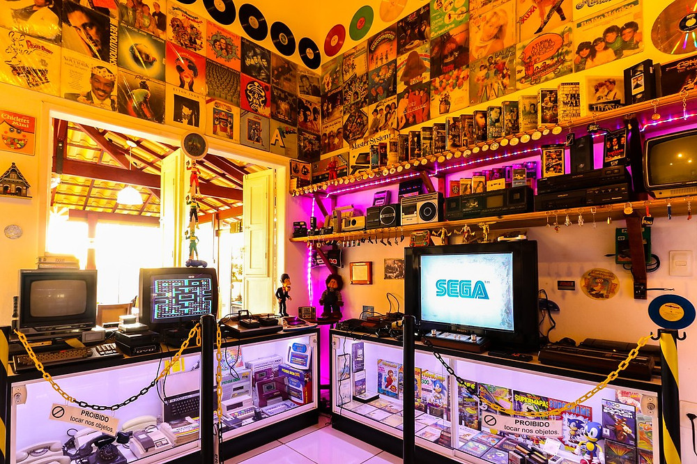 Museu da Nostalgia Anos 80