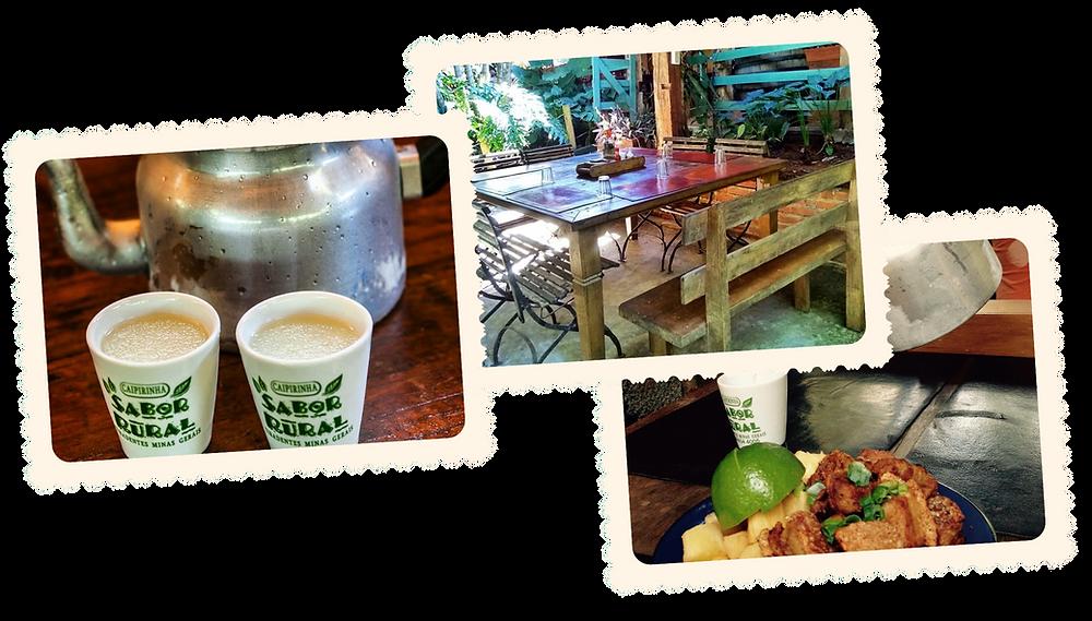 Deliciosa comida mineira e Chaleira de Caipirinha