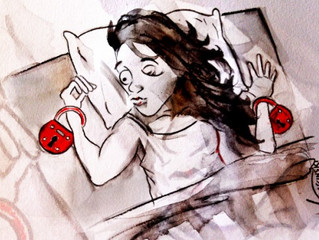 Forced holiday: Sleep paralysis at its worst