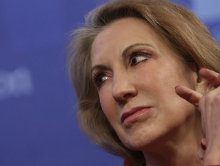 My fluctuating interest in Carly Fiorina
