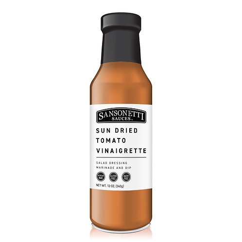 Sun Dried Tomato Vinaigrette 12 oz.