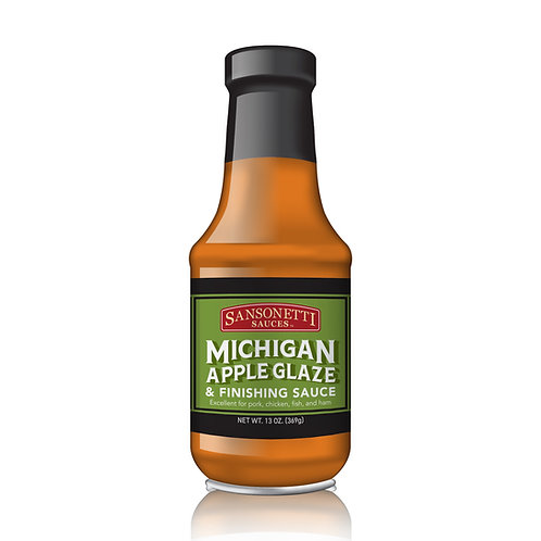 Michigan Apple Glaze 13 oz.