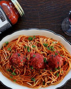 Spagetti and Meatballs Sansonetti Sauces Recipe