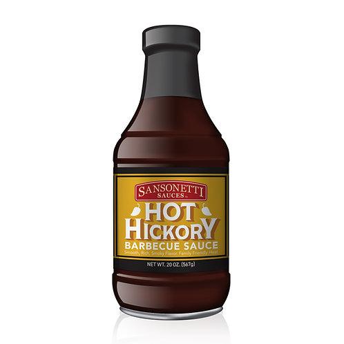 Hot Hickory BBQ Sauce 20 oz.
