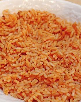 Spanish Rice with Sansonetti Sauces Griled Salsa