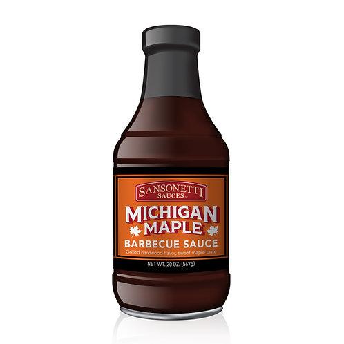 Michigan Maple BBQ Sauce 20 oz.