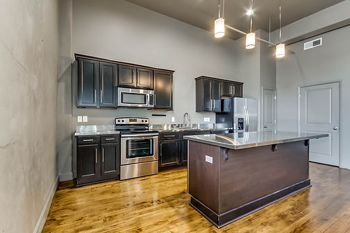 Inside a Kress Lofts condo in Tuscaloosa