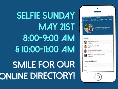 Selfie Sunday May 21st