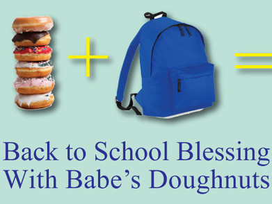 Back to School Blessing with Babe's Doughnuts!