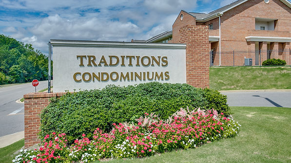 Entrance to Traditions Condos in Tuscalo
