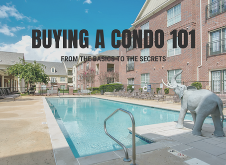 TIPS FOR BUYING A TUSCALOOSA CONDO