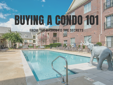 TIPS FOR BUYING A TUSCALOOSA CONDO