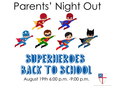 Register now for Parents' Night Out!