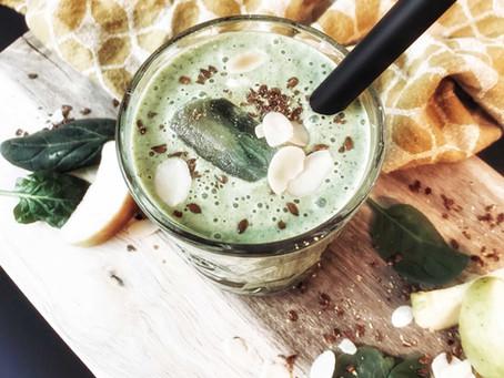 Vegan recept: Groene Boost Smoothie