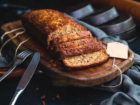 Vegan recept: Bananenbrood (met noten)