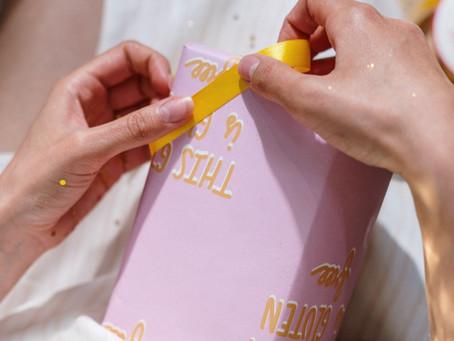 Doorgeef inpakpapier: lekker duurzaam inpakken.
