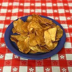 Basket of Homemade Chips