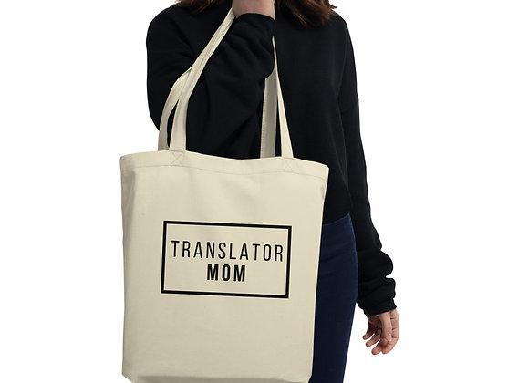 Translator Mom Eco Tote Bag