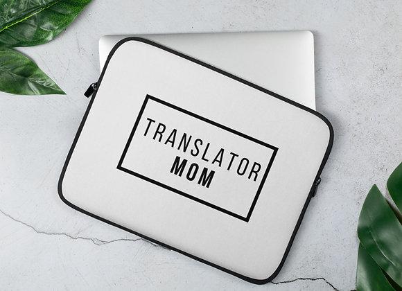 Translator Mom Laptop Sleeve -13in