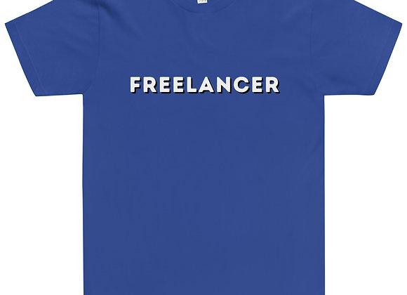 Freelancer Unisex T-Shirt - Blue