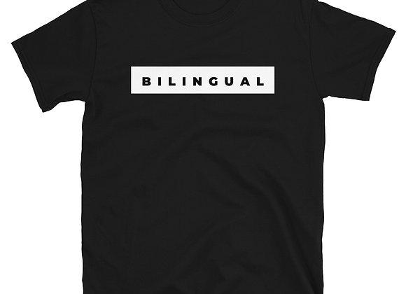 Bilingual Unisex T-Shirt - Black