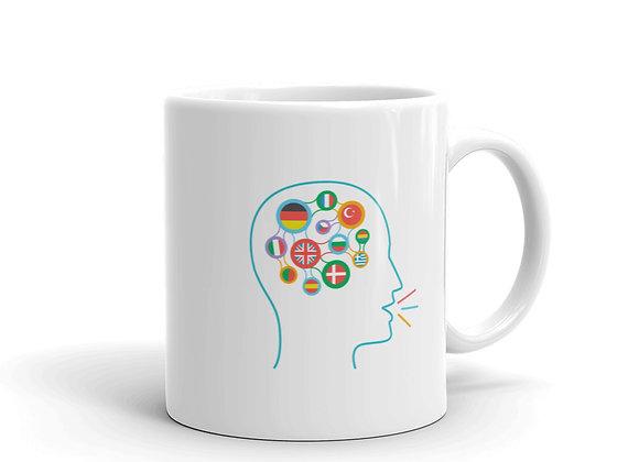 Talking Head Mug