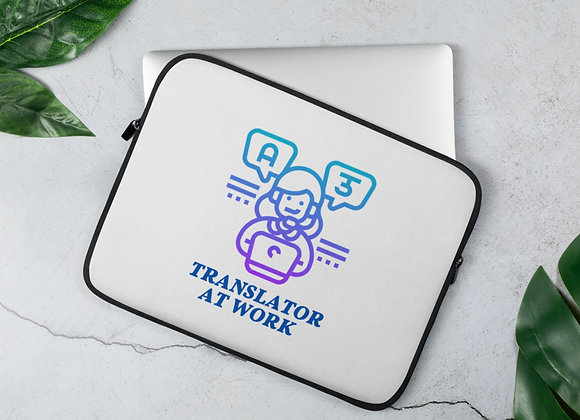 Translator at Work Laptop Sleeve - 13in