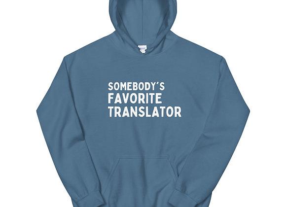 Somebody's Favorite Unisex Hoodie - Blue