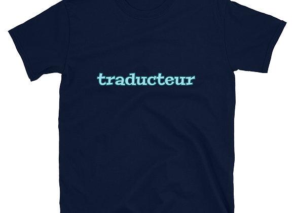 Traducteur Short-Sleeve T-Shirt - Blue