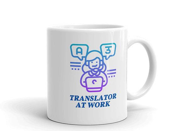 Translator at Work Mug