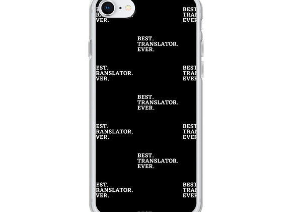 Best. Translator. Ever iPhone (various models) - Black