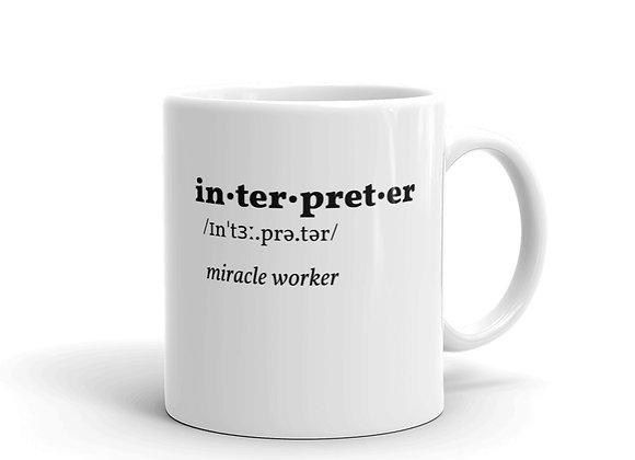 Interpreter Miracle Worker Mug