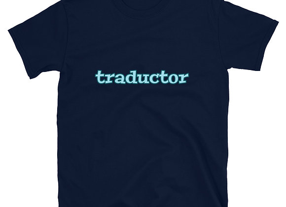 Traductor Short-Sleeve T-Shirt - Blue