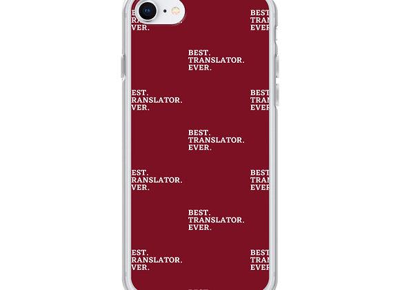 Best. Translator. Ever iPhone (various models) - Red