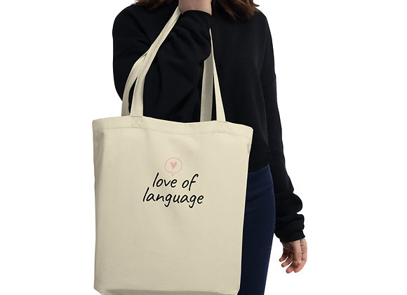 Love of Language Eco Tote Bag