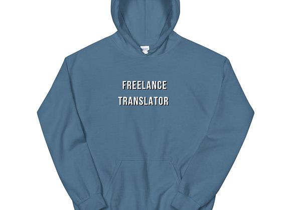 Freelance Translator Unisex Hoodie - Light Blue