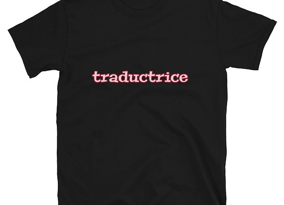 Traductrice Short-Sleeve T-Shirt - Pink