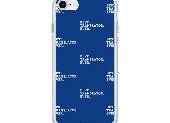 Best. Translator. Ever iPhone (various models) - Blue
