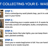 Start Collecting Your E-Waste