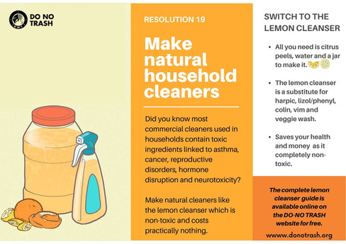 Make Natural Household Cleaners