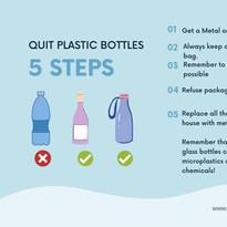 Quit Plastic Bottle