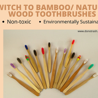 Switch To Bamboo Toothbrush
