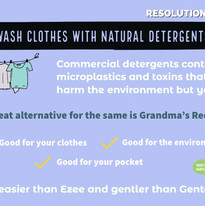 Wash Clothes With Natural Detergents