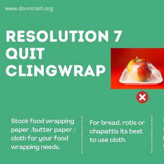 Quit ClingWrap