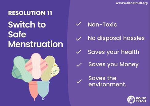 Switch To Safe Menstruation